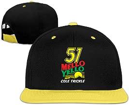 51 Mello Yello Cole Trickle Adjustable Kids Hip Hop Baseball Cap Sun Hats Boys'