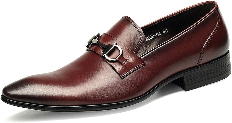 GDXH Nouveau Slip-on Slafer Flats Chaussures Hommes Classique Style Gentlehomme Formelle Loisirs Affaires Chaussures Chaussures Formelles