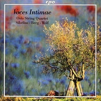 """Sibelius: String Quartet, """"Voces Intimae"""" / Wolf: Italian Serenade / Berg: Lyric Suite"""