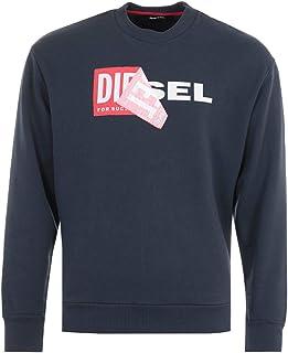Diesel S-Samy Double Logo Sweatshirt - Navy