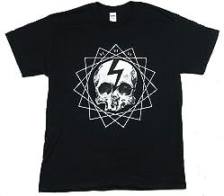 Marilyn Manson Fated Skull Faithful Fatal 666 Black T Shirt New Official Merch