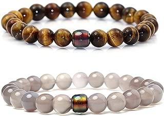 Best gray bead bracelet Reviews