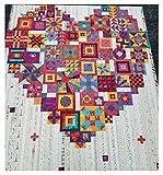 Boho Heart Booklet by Jen Kingwell Designs