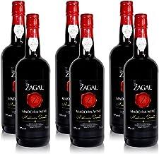 6 Flaschen Don Zagal Medium Sweet Likör Wein aus Madeira 6 x 0,75 l