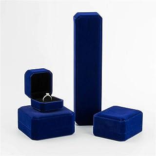 Caja de joyería Caja de anillo Pendientes Caja Colgante Caja Pulsera Caja Collar Caja Cajas de