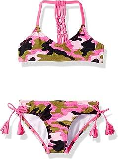 Girls' Willow V-Neck Bikini Beach Sport 2-Piece Swimsuit