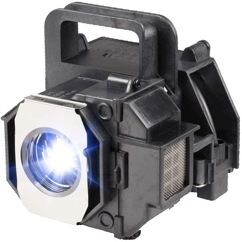 Terzomen's ELPLP49/V13H010L49 Projector OEM Lamp Bulb with Housing for Epson PowerLite Home Cinema 8350 8100 6100 6500UB Replacement Lamp