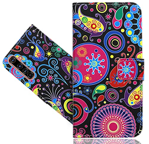WenTian Realme X50 Pro Handy Tasche, HülleExpert® Retro Vintage Wallet Hülle Flip Cover Hüllen Etui Hülle Ledertasche Lederhülle Schutzhülle Für Realme X50 Pro