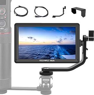 カメラ撮影モニター FEELWORLD Master MA6F 液晶フィールドモニター 一眼レフカメラ撮影確認 5.5インチIPS 超薄型 1280x720 HDオンカメラビデオモニター 4K HDMI信号入力