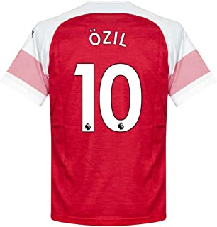 PUMA Arsenal Home Özil 10 Jersey 2018/2019 (Authentic EPL Printing)