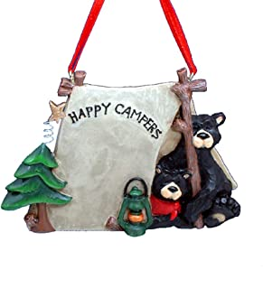 Black Bear Family DIY Christmas Party Holiday Decorations Ornaments Home X4U1