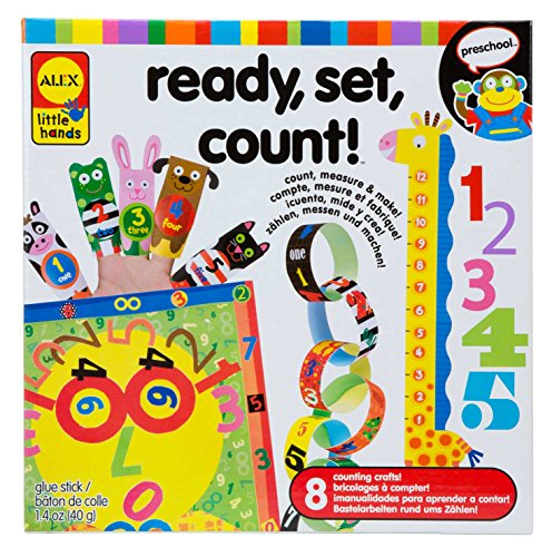 Alex Toys Early Learning Ready Set Count Little Hands