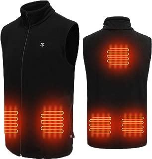 USB Electric Heated Vest Fleece Heated Vest Heated Waistcoat Charging Heating Vest