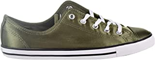 Converse Chuck Taylor All Star Dainty OX Women's Shoes Medium Olive/White/Black 557976f