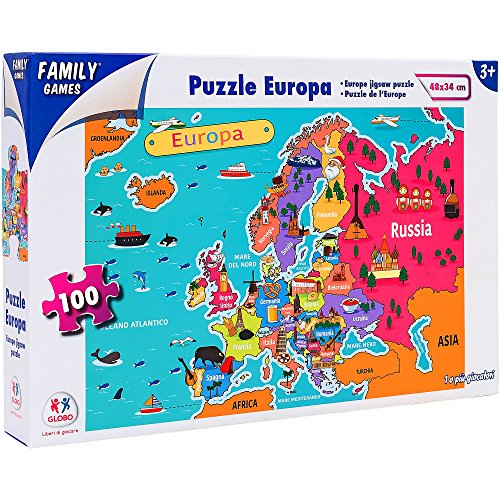 Family Games 40325 - Puzzle Europa