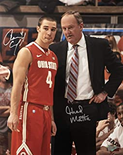 Aaron Craft & Thad Matta Ohio State Buckeyes 16-1 16x20 Autographed Photo - Certified Authentic