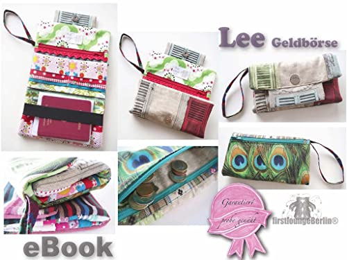 Lee Geldbörse Ebook Portmonee - Nähen ohne Schnittmusterausdruck [Download]