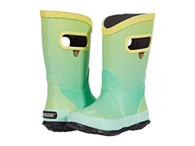 Bogs Kids Rain Boots Ombre (Toddler/Little Kid/Big Kid) (Mint Green Multi) Kids Shoes