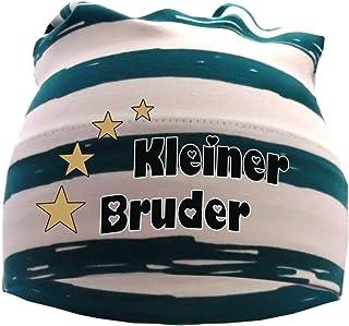 KLEINER FRATZ gestreifte Kinder Beanie Baby Mütze Sommer Stripes Jungen Babymütze Mädchen Hat Druck Kleiner Bruder