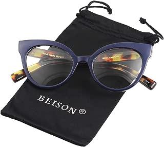 Womens Cat Eye Mod Fashion Non Prescription Glasses Frame Clear Lens