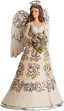 Jim Shore Heartwood Creek Blessings on 25th Wedding Anniversary Angel Figurine