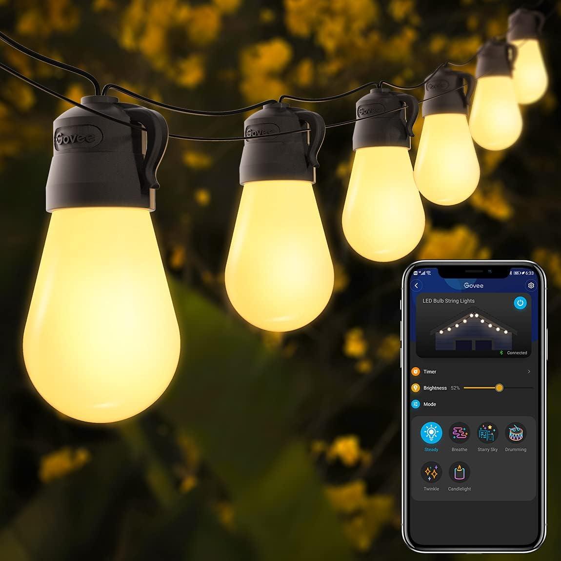 Govee 48ft  IP65 Waterproof Patio Lights $25.99 Coupon