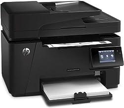 $271 » Hewlett-Packard-HP Laserjet Pro Wireless Monochrome Multifunction M127fw Laser Printer, Copier, Scanner and Fax, Up to 21 ppm, 600 x 600 dpi Black Print Quality