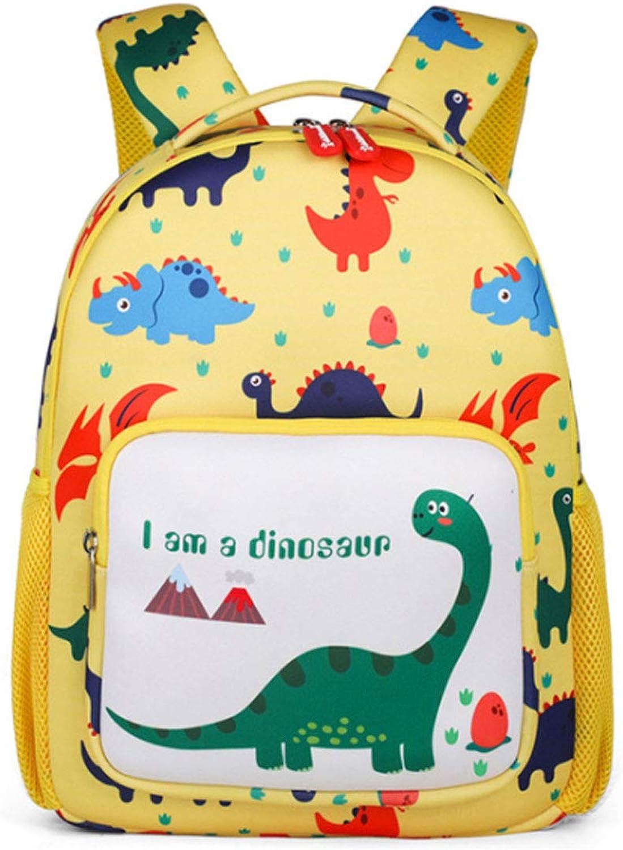 CASUALBOYS Dinosauro del Fumetto di Asilo Anti-Perso Kindergarten Zainetti per Bambini Simpatici Zaini per Borse da Scuola 3-6 Anni gituttio-34  25  13cm