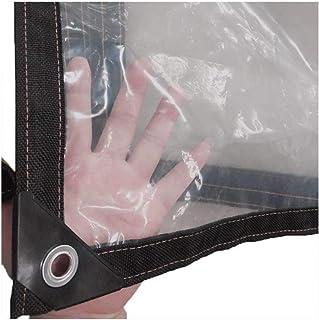 YLJYJ Lona, Cubierta Impermeable Lona Pesada Transparente Revestimiento de Piso de Lona Resistente a la Humedad Pasillo a Prueba de Viento, 23 tamaños (Color: Transparente, Tamaño: 4X10m)