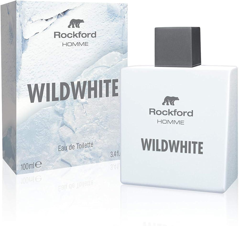 Rockford wildwhite, eau de toilette, profumo da uomo 100 ml GA12002