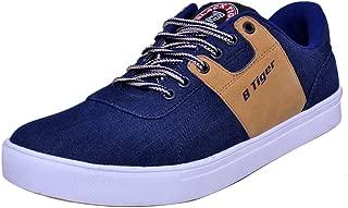 Black Tiger Men's Casual Shoes 8082-Blue