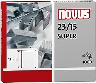 Novus 23/15 S 1M Staples, Silver