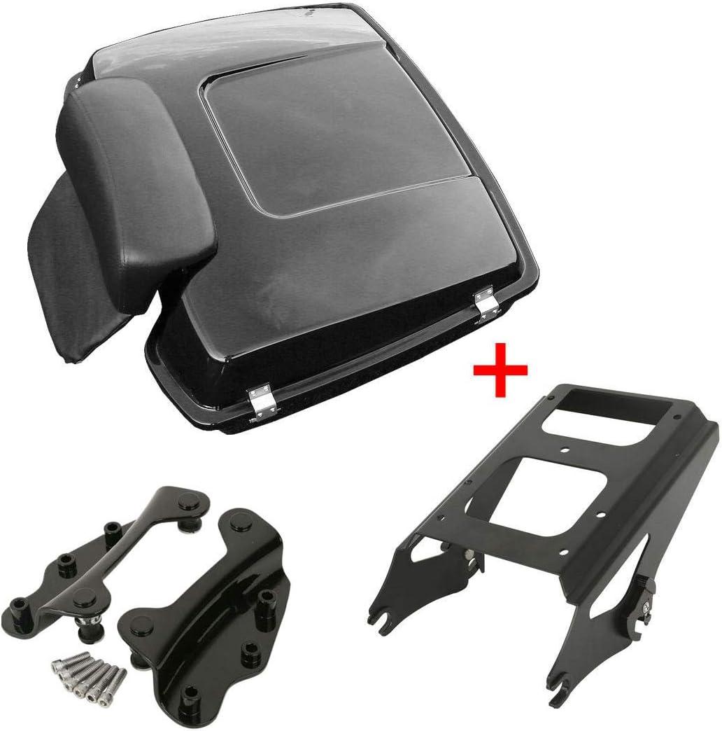 Max 69% OFF TCMT supreme Razor Tour Pack Trunk Backrest Rack Dockin Luggage Mounting