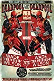 Deadpool - Wade Vs Wade - Official Poster by NNG