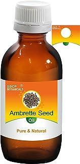 SSCP Botanicals Ambrette Seed Pure & Natural Essential Oil (Abelmoschus moschatus) (1000 ml (33.80 Oz) Aluminium Bottle)