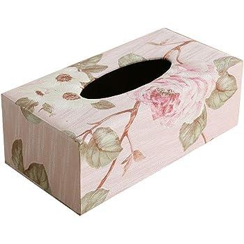 Depory 1pc Caja de Pañuelos Caja de Cuero para Toallas de Papel para Decoración Hogar y Oficina (M): Amazon.es: Hogar