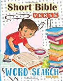 Word Search : Short Bible Verse for Kids: 48 Memory Short Bible Verse for Kids Ages 6-8 (Bible Study Game for Kids) (Volume 7)