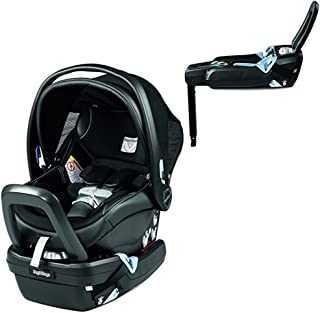 Peg Perego Primo Viaggio Nido Car Seat with Load Leg Base, Licorice