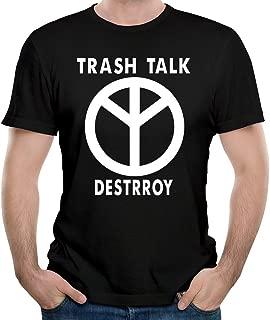 NBS Men's TRASH TALK Band Logo Tshirts