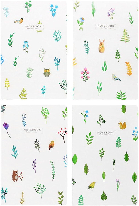 Yofo Flower Plant Stil 30 Blatt A5 Line Notebook Tagebuch Notizblock Memo Notizbuch für Schule Büro liefert Stationery B07G7TXTVZ | Vorzügliche Verarbeitung
