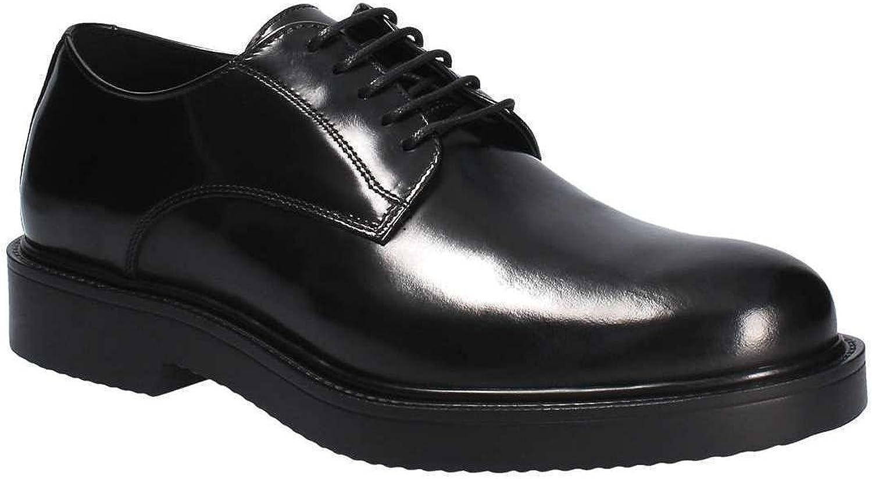 IGI & CO 86860 Elegant Men's Ceremony shoes in Black Shiny Leather