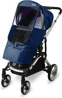 Manito Elegance Beta Stroller Weather Shield / Rain Cover - Navy