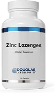 Douglas Laboratories - Zinc Lozenges - Zinc Citrate Supports Immunity, Reproduction, and Skin* - 100 Lozenges