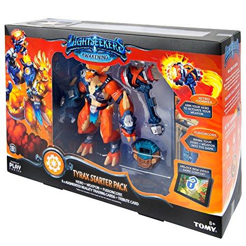 Lightseekers L71002 Tomy Tyrax Starter Set Kompatibel mit dem Spiel Ideal als Geschenk für Kinder ab 8 Jahre Englische Version - 10