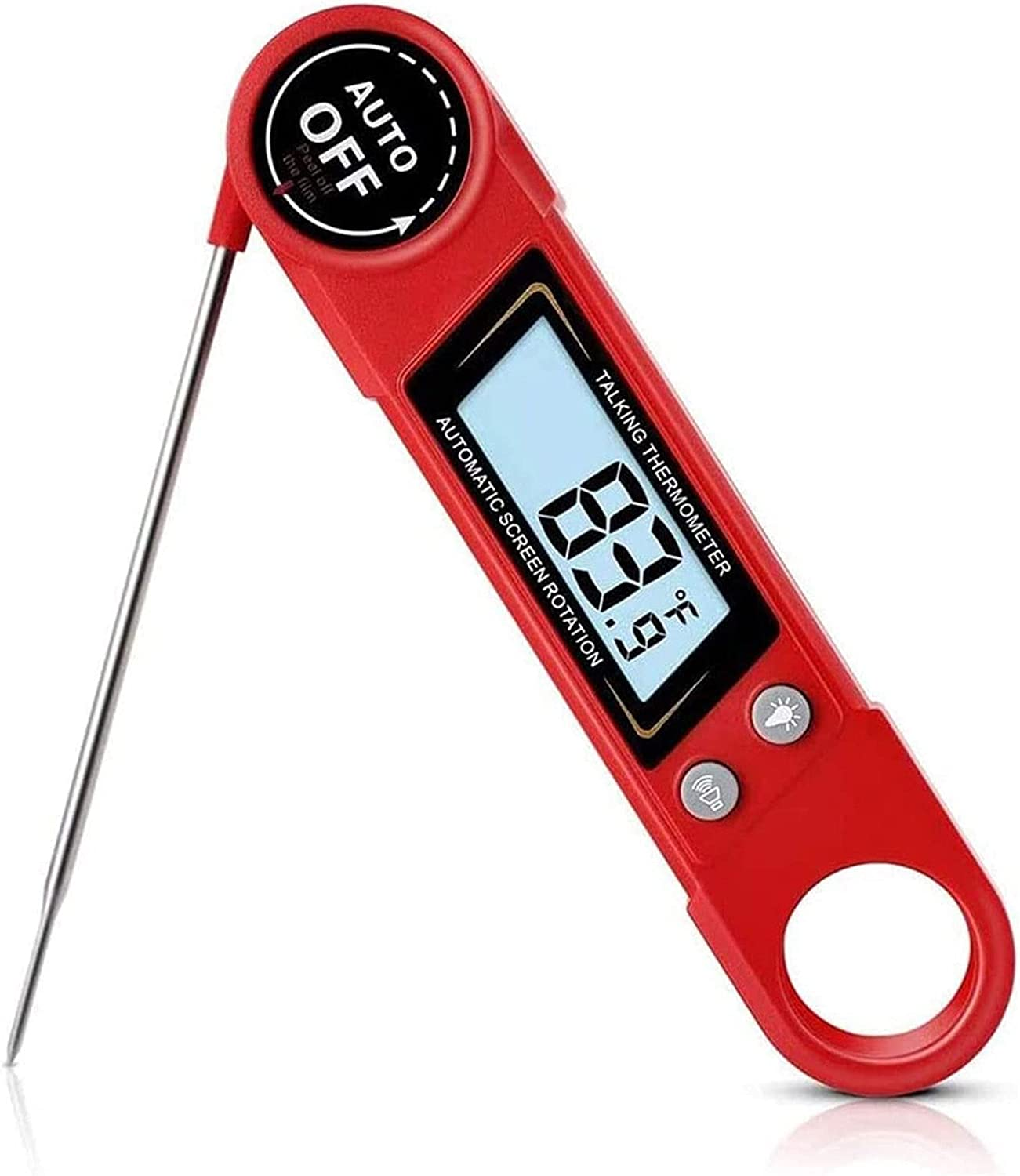 Odekai Low price Waterproof Denver Mall Digital Meat Thermometer Grilling Bac with for