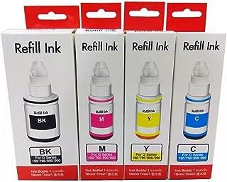 Kit Colorido de Tinta Compatível para impressora G1000 G2000 G3000 G1100 G2100 G3100 G3102 G1800 G2800 G3800 G1900 G2900 G...