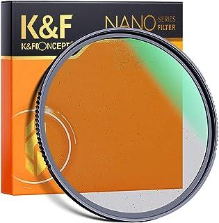 K&F Concept Black Mist 1/4 Filter 82mm Black Promist 1/4 Filter Effektfilter