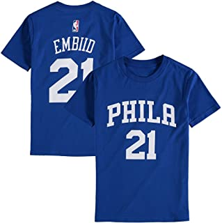 Outerstuff Joel Embiid Philadelphia 76ers Youth Royal Name and Number Player T-Shirt