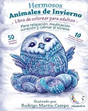 Libro de Colorear para Adultos Contra El Stress: Hermosos Animales de Invierno de Relajación: Volume 1 (Mandala De La Art...