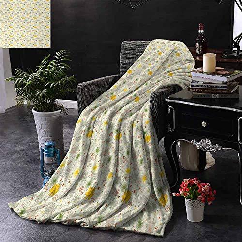 GGACEN bont deken verticale geometrisch cirkelvormig patroon met stippen continue ketting ontwerp lichtgewicht microvezel, alle seizoen voor bank of bed